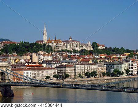 Budapest, Hungary - 12 Jun 2011: The View On Budapest City, Hungary