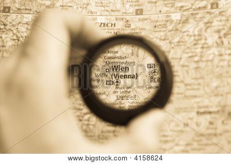 Map Of Wien
