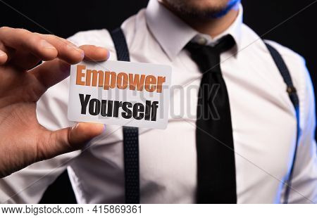 Empower Yourself - Motivation And Coaching On Card