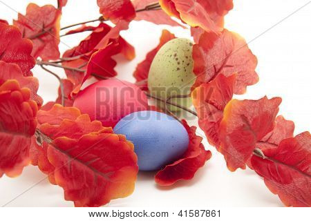 Different Eastereggs with red Sheets