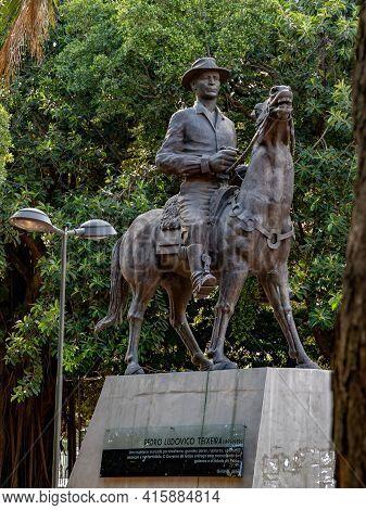 Monument Tribute To Pedro Ludovico Teixeira