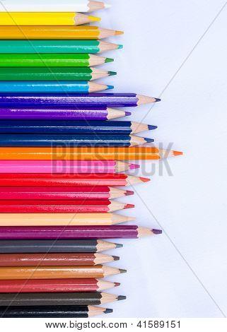 pencils colour