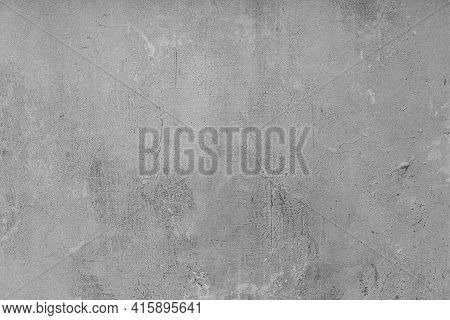 Gray Rough Rough Wall, Background. Granite, Abstract, Ancient, Urban
