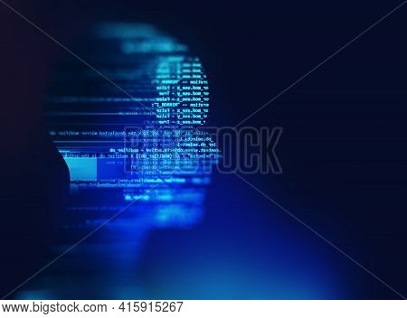 Programming Code Abstract Technology Background Of Software Developer And  Computer Script 3d Illust