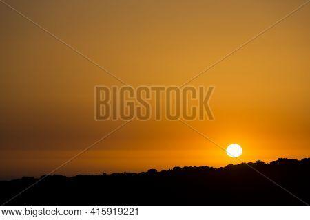 Gorgeous Sunset In Essaouira