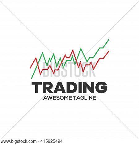Trading Logo. Financial Logo. Candlestick Trading Logo. Trading Stock Symbol. Trading Icon. Trading
