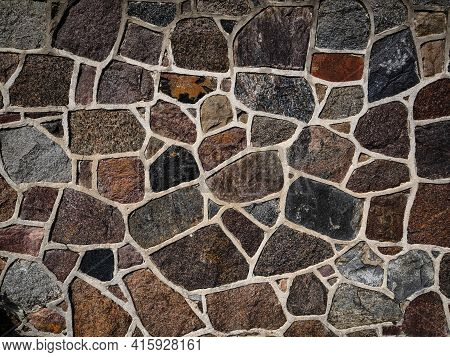 Stone Wall Texture Background For Creative Graphic Design