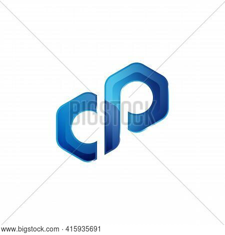 Shiny Infinity Logo 3d Icon Template Design Vector. Shiny Infinity Symbol On A White Background Vect