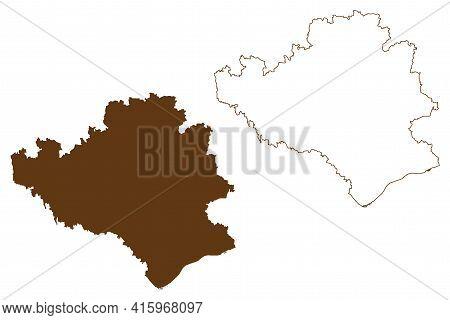 Rottal-inn District (federal Republic Of Germany, Rural District Lower Bavaria, Free State Of Bavari