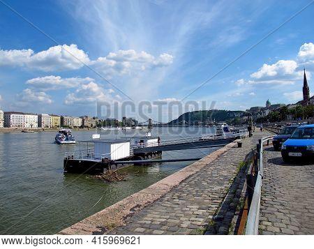 Budapest, Hungary - 12 Jun 2011: The View On Budapest, Hungary