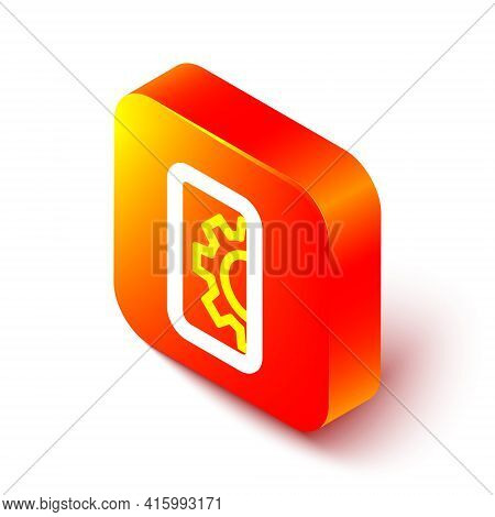 Isometric Line Software, Web Development, Programming Concept Icon Isolated On White Background. Pro