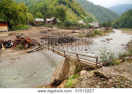 Wasser Valley in Maramures, Romania, Europe