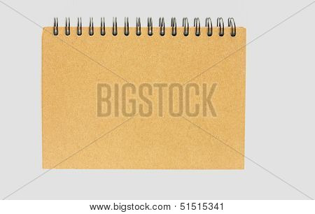 Notebook With Brown