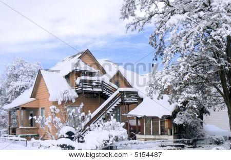 Queen Anne Era House New Snow Quincy