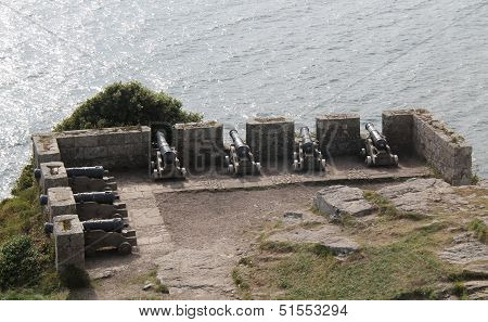 Historic Cannon Emplacement.