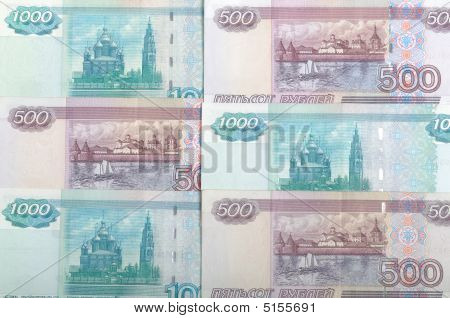 Russian Bank Notes