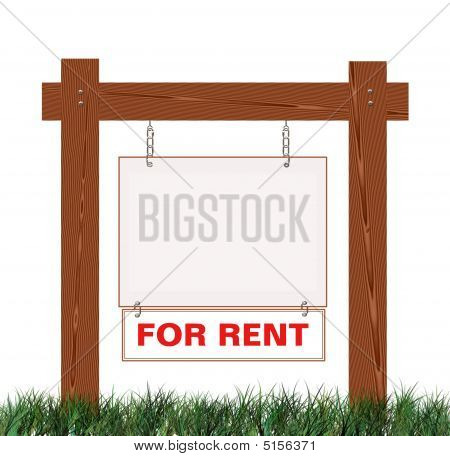 Real Estate For Sale Sign For Rent