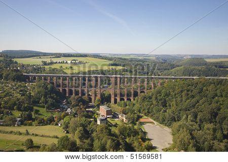 Goltzsch Viaduct - Aerial View