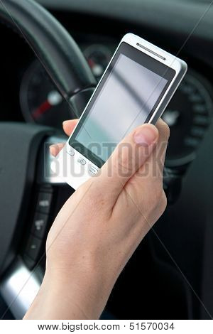 Text Or Sms And Drive