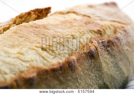 French Bread Close Up Shallow Depth Of Field