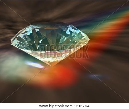Diamond In Rainbow
