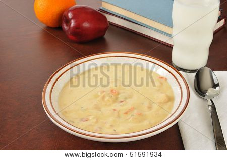 Bowl Of Soup After School