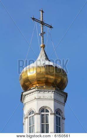 Belfry Of Russian Orthodoxy Church