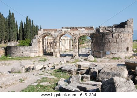 Hierapolis Frontinus Street Gate