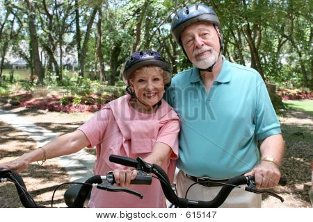 Veilige Senior fietsers