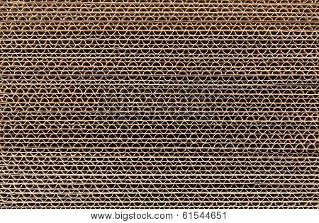 Corrugated Cardboard Stacked
