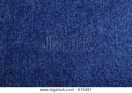 Blue Denim Fabric Pattern