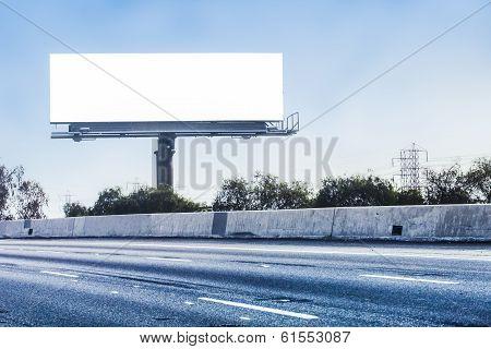 Big white billboard