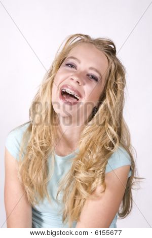 Expression Girl Laughing