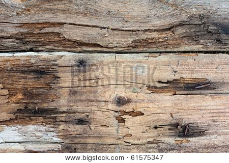 Old wooden plank board vintage background