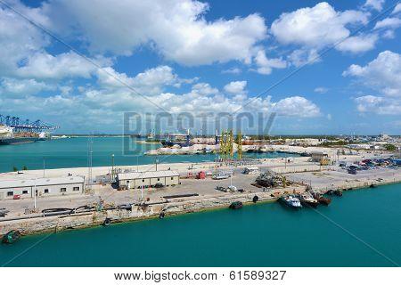 Industrial View In Freeport