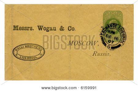 Envelope Wogau & Co
