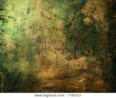 Mixed  illustrated material abstract grunge background texture. poster
