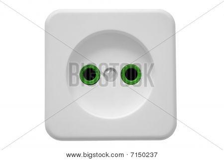 Electric Socket_green