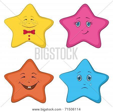 Smilies stars