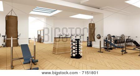Empty Sports Club