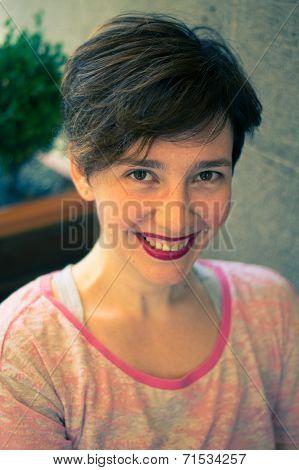 Beautiful Brunnet Woman