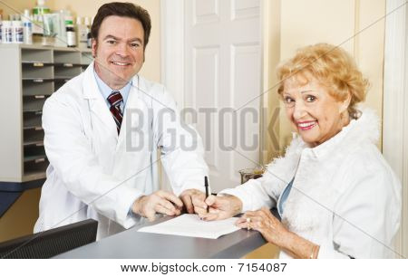 Filling Out Medical Forms