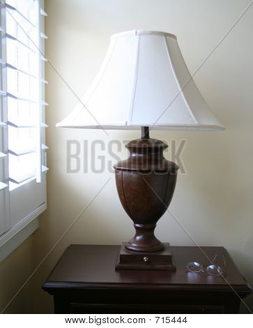 Lamp With Window Light