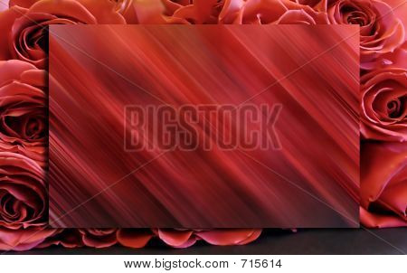 Red Roses Background