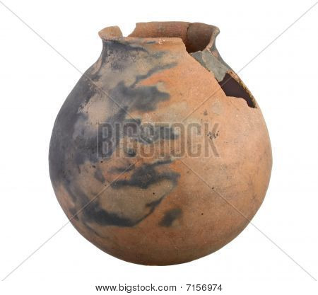 Large Indian Clay Pot