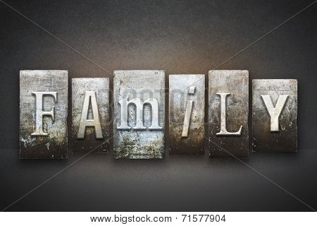 Family Letterpress