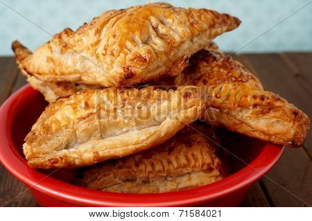 Danish Pastries, Apple Pockets