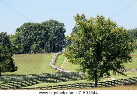 Road To Appomattox Courthouse National Park