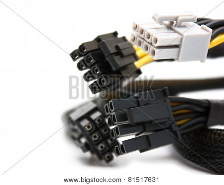 Background With Computer Pci Connectors