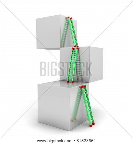Ladder Cubes
